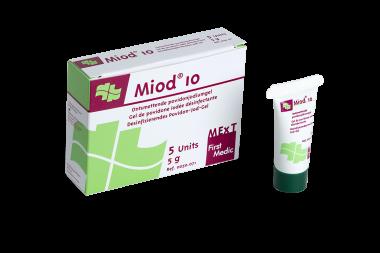 Miod 10, ontsmettende povidonjodiumgel
