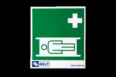 Signalisatie sticker vinyl - draagberrie