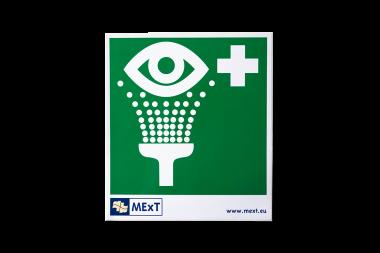 Signalisation autocollante vinyle - douche pour les yeux